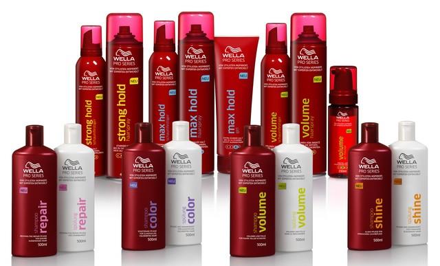 NEU: Wella Pro Series - exklusiv im Einzelhandel / Haarpflege- und Stylingkompetenz von Wella, der Nr. 1 Friseur-Marke*